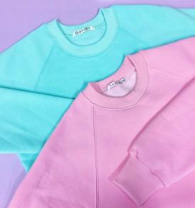 Утепленный Свитшот CAMPUS Pink