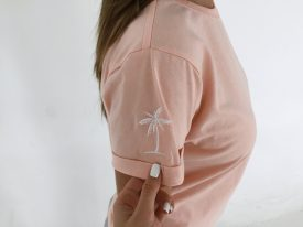 Футболка Campus SLEEVE PALM PEACH
